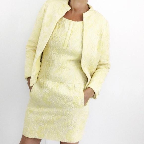 Vintage Dresses & Skirts - Vintage Teal Traina Paisley Shift Dress Suit 60s